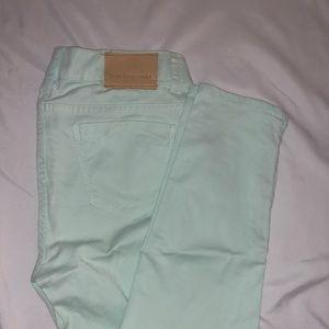 Zara Mint Jeans